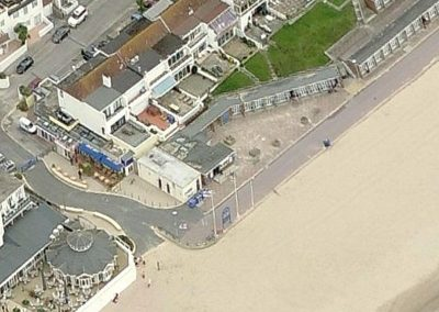 Shore Road aerial view