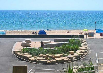 Seaside Garden landscaping stone supplied by Suttles