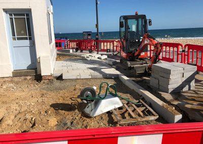 Upgrading kerbs & shop/kiosk access 18th September