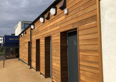 Access to public toilets and family changing room