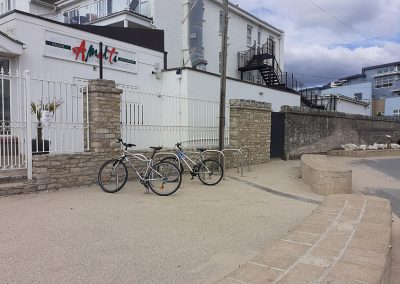 Additional parking for bikes
