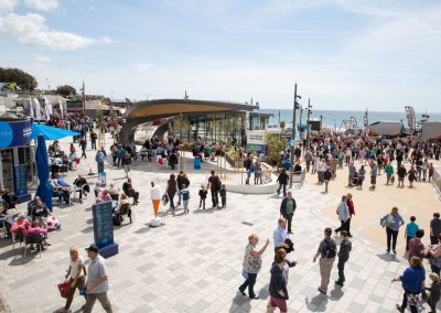 The new Pier Approach during Bournemouth Wheels Festival 2015