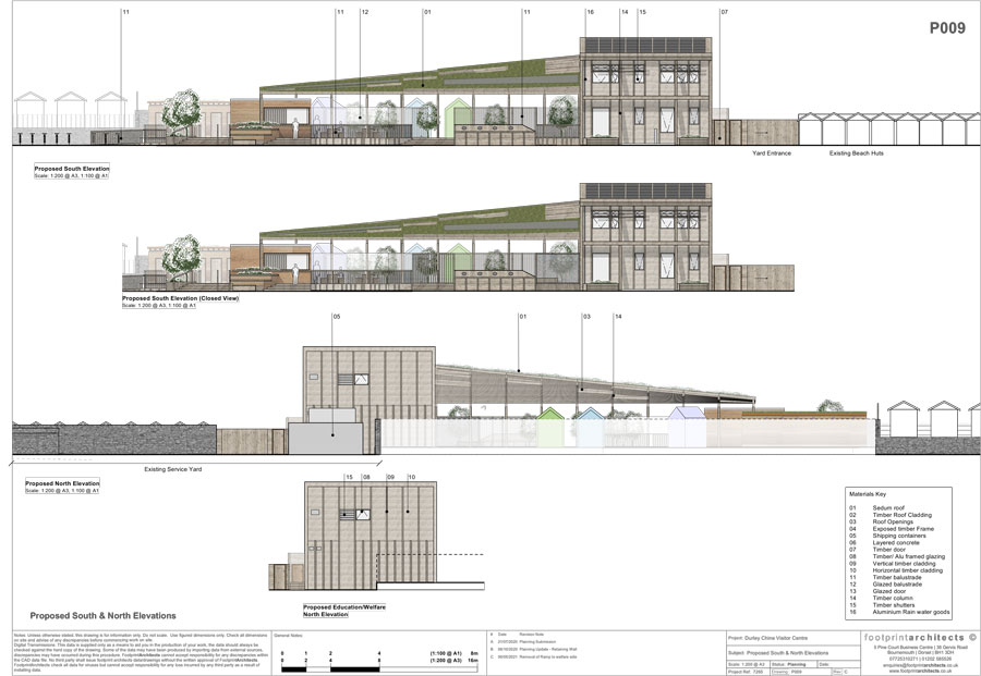 The Hub Elevations (PDF download) revised May 2021